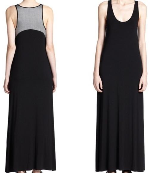 Vince Dresses & Skirts - Vince XS Chambray Back Black Maxi Dress